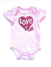 Assorted Love & Heart Boys' & Girls' Valentine's Day Bodysuit Dress Up Outfit