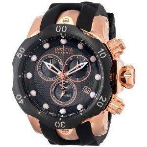 腕時計 インヴィクタ Invicta Men's 16152 Venom Analog Display Swiss Quartz Black Watch【並行輸入品】 B00PFNEOQ8