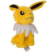 "Jolteon ~7.5"" Mini-Plush: Pokemon Evolution of Eevee Series"
