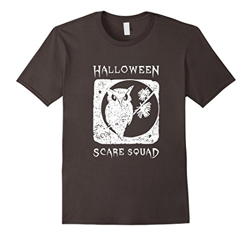 Mens Awesome Halloween scare squad costume funny gift t-shirt 3XL (Male College Student Halloween Costume Ideas)