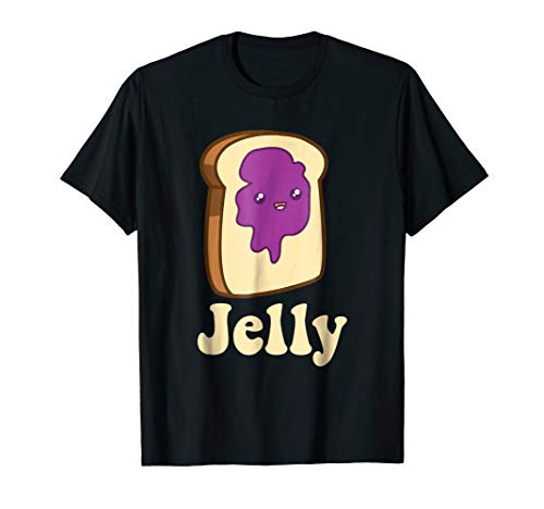 Jelly Peanut Butter Matching Couple Costume Halloween Shirt ()