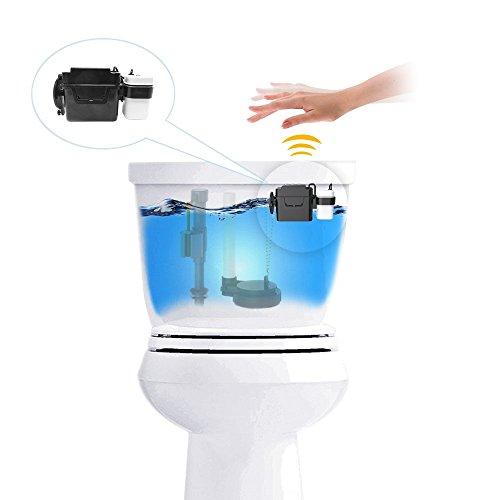 techo touchless toilet flush kit wave automatic motion. Black Bedroom Furniture Sets. Home Design Ideas