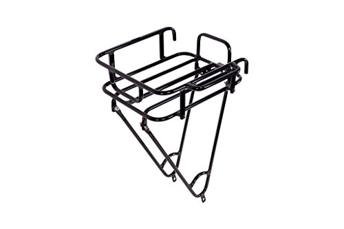 Pure City Urban Front Bike Cargo Rack, Black