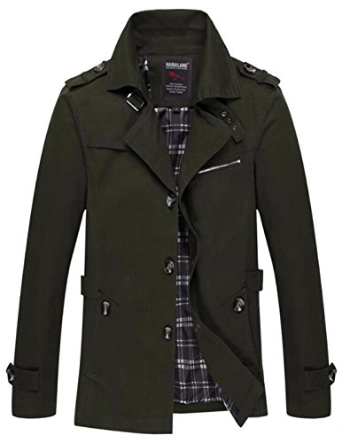 Vcansion Men's Ourdoors Windbreaker Jacket Coat Army Green - Moncler Burgundy