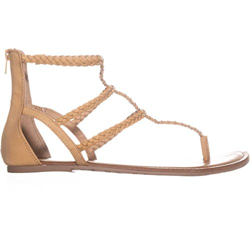 Casual Open Strappy Rag Toe Natural Womens Light amadora Sandals American SgWtqXwnq
