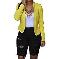 roswear de la mujer Denim destruido Mid Rise elástico Bermuda Shorts