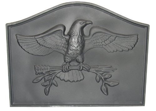 HomComfort CIFBEG Eagle Cast Iron Fireback Plates