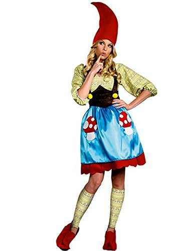 Adult Plus Size Ms Gnome Costume for Women]()