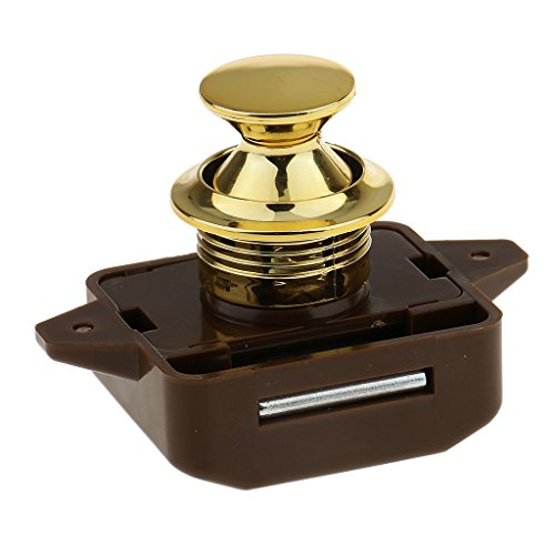 Diameter 26mm Push Button Catch Cupboard Pop Up Knob Camper Lock Handle
