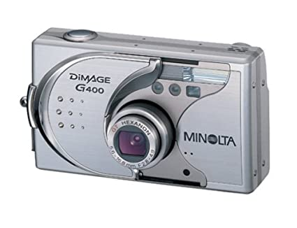 amazon com minolta dimage g400 4 0 mp digital camera with 3x rh amazon com