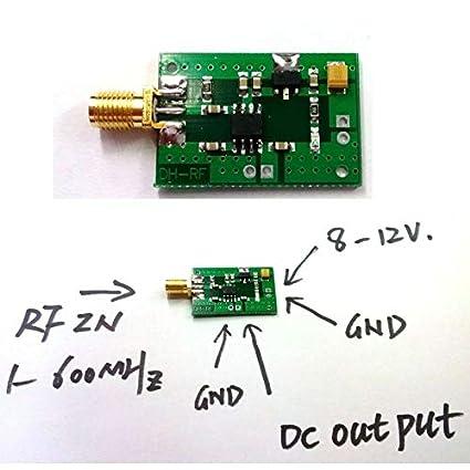 Amazon.com: FidgetFidget 1-600MHz AGC ALC RF Power Meter logarithmic Detector Power Detector F Amplifier: Electronics