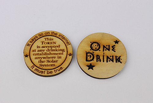 50 One Drink Token Drink Token