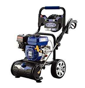Ford 186 Bar 208cc Petrol / Gasoline Professional High Powered Pressure Washer, Blue