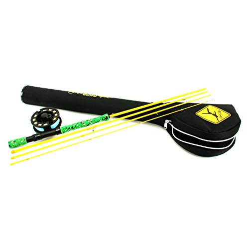 Echo Gecko Kids Fly Fishing Kit (Best Small Stream Fly Rod)