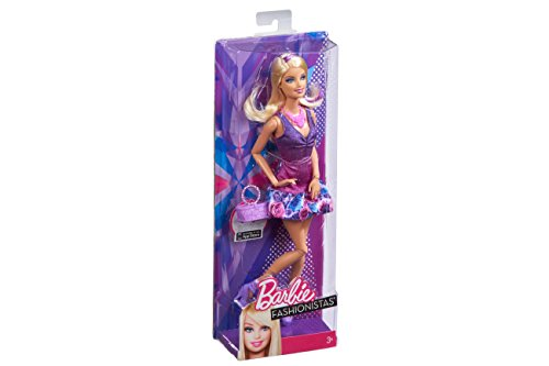 Barbie Fashionista Barbie Doll - Purple Dress