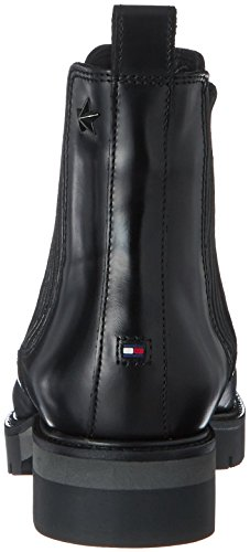 Tommy Hilfiger R1285oxana 2a, Stivali Chelsea Donna nero