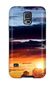 New Arrival Sunset Earth Nature Sunset For Galaxy S5 Case Cover