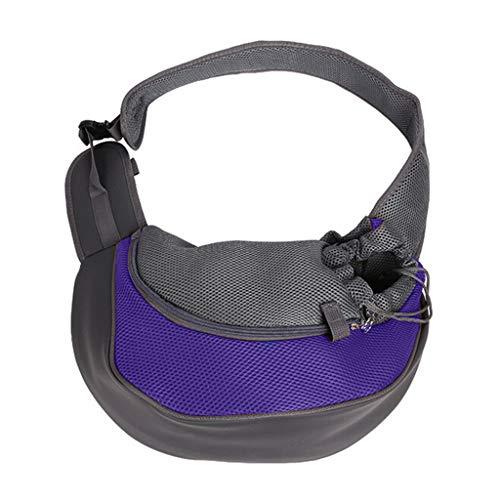 - TYPEIN Sling Pet Carrier, Reversible Mesh Travel Tote Shoulder Slung Shoulder Bag for Dogs Cat,stravel Portable pet Backpack