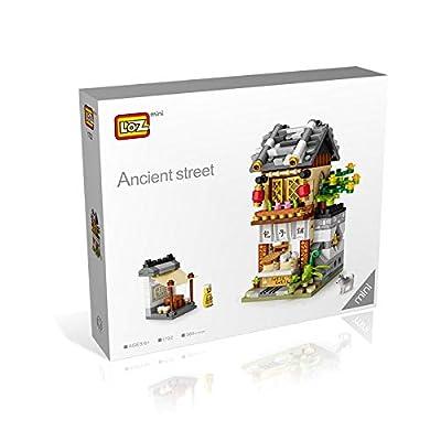 LOZ Building Bricks Blocks Micro NO.1722 Compatible Nano Chistmas Bithday Gifts for Kids DIY Figures Assemble Educational Toys Model Kits: Toys & Games