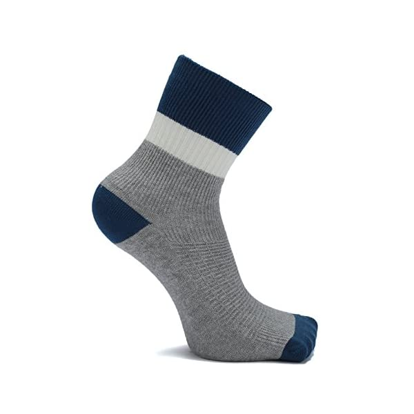 Boys Cotton Seamless Socks Crew Atheletic Sport Socks for Kids 6 Pack