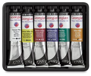 - Daler-Rowney Georgian Watermixable Oil - 37 Milliliter - Cobalt Violet Hue (406)