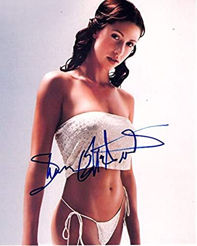 Shannon Elizabeth Signed Autographed Sexy Bikini Photo At Amazons