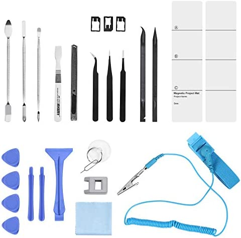 ORIA Precision Screwdriver Set, 86 in 1 Magnetic Repair Tool Kit, Screwdriver Kit with Portable Bag for Game Console, Tablet, PC, Macbook and Other Electronics, Blue 41VHRdXWsWL