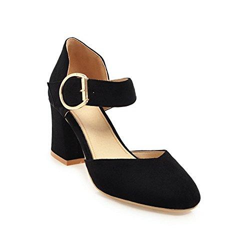 Noir EYR00289 Noir Aimint Sandales 5 Compensées Femme 36 xRwdq6Xdn