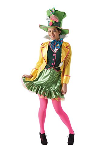 Rubie's Official Ladies Alice In Wonderland, Had Hatter Adult Costume - Small