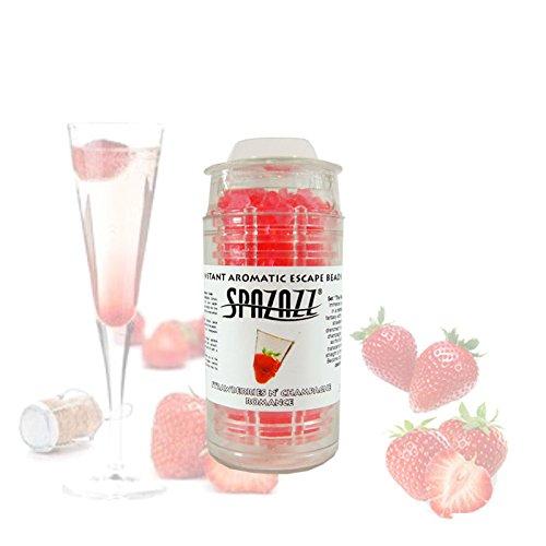Spazazz SPZ-360 Strawberries & Champagne Romance Instant Aromatic Escape Beads Jar, 1/2 oz