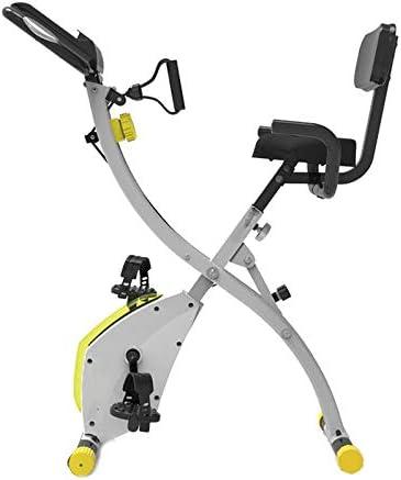 Bicicleta de Ejercicio Plegable, Bicicleta Deportiva de Control ...