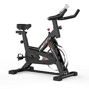 41VHSW%2BLOFL. SS300 Allenamento Spin Bike Professionale Cyclette Aerobico Home Trainer, Orologio Elettronico Multifunzionale, Staffa Multifunzionale, Volano Grande Da 6 Kg, Velocità Infinitamente Variabile