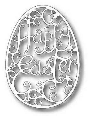 Tutti Designs Happy Easter Egg Cutting Die (Egg Die Cut)