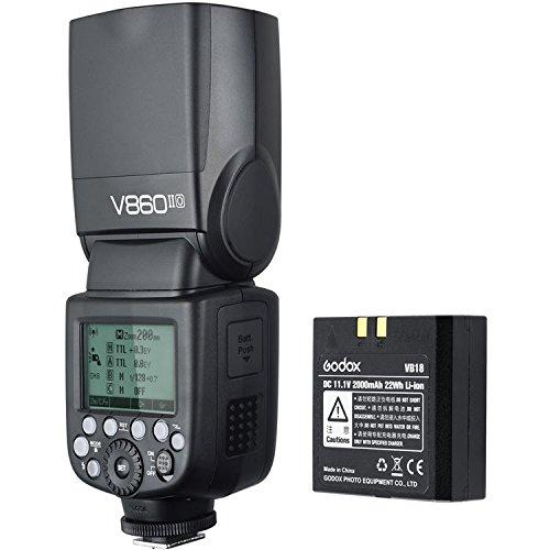 Godox VING V860IIF TTL Li-Ion Flash Kit for Fujifilm Cameras by Godox