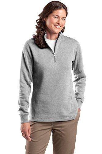 Ladies 1/4 Zip Sweatshirt - 3