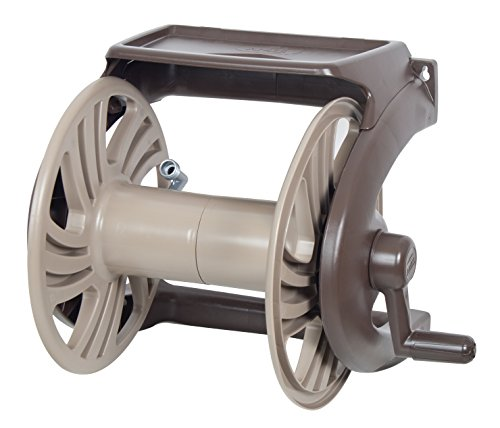 The Ames Companies, Inc 2415600 Ames NeverLeak Poly Wall Mount Hose Reel and Tray with 225-Foot Hose Capacity
