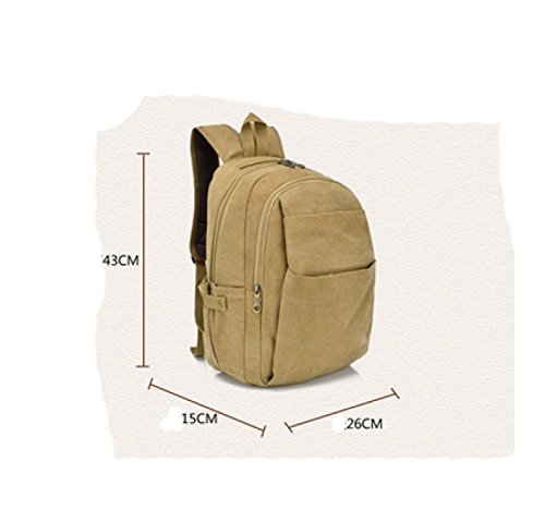 Leisure Beige Laidaye Business Travel Men purpose Multi Backpack w6wZIvFR0q