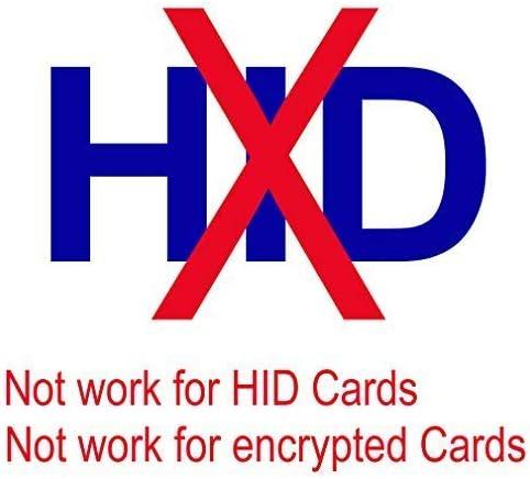 5PCS Writable Cards ETEKJOY Handheld 125KHz RFID ID Card Reader Writer Copier Duplicator