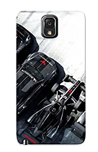 Top Quality Protection Grid Autosport Case Cover For Galaxy Note 3 With Appearance/best Gifts For Christmas Day