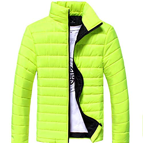 White Mens Winter Down Jacket Men Coats Clothing,Blue Green,XXL