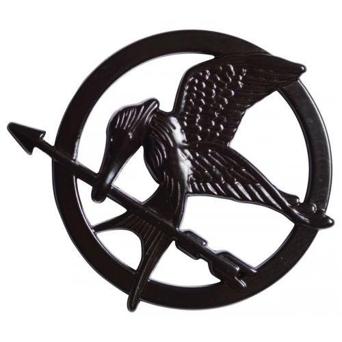 Mockingjay Pin The Hunger Games Katniss Everdeen Costume Halloween Fancy Dress (Katniss Everdeen Halloween Costumes)