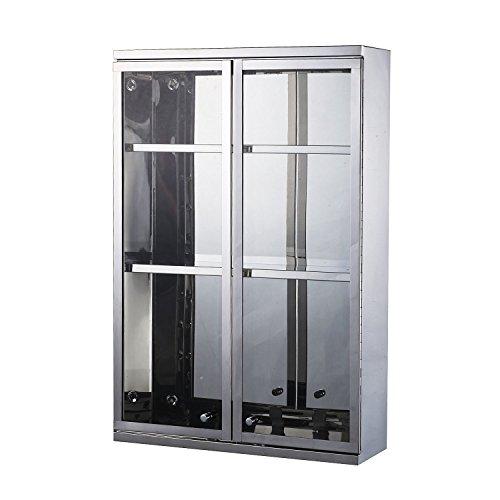 Mirrored Wall Shelf - HomCom 24