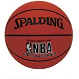 Spalding NBA Youth Outdoor Basketball - Youth Size 5 (27.5')