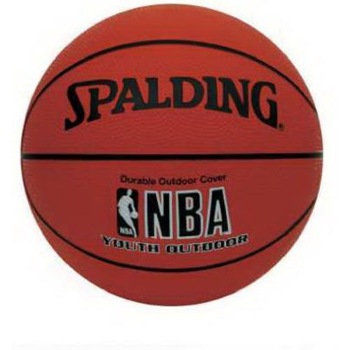 Spalding NBA Youth Outdoor Basketball - Youth Size 5 (27.5'') by Spalding