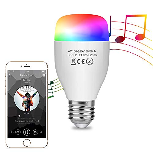 - Aigital Smart LED Bulb,WiFi Light Bulb Color Changing Bulbs Dimmable Night Lamp Smart Light Bulb Music Mode Compatible with Amazon Alex (Easy Setup, Group Control, Remote Control, No Hub Required)