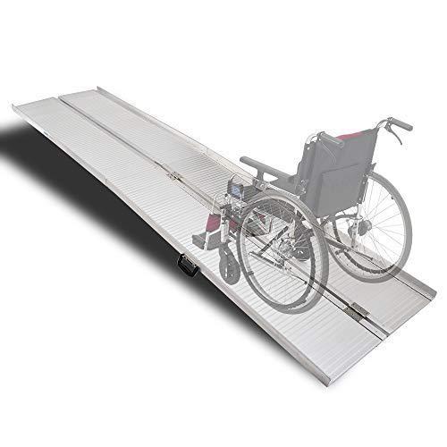 Amazon.com: Mefeir - Rampas de aluminio para silla de ruedas ...