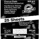 Bulk Crocus Cloth 9x11 800g Crocus Cloth Amazon Com