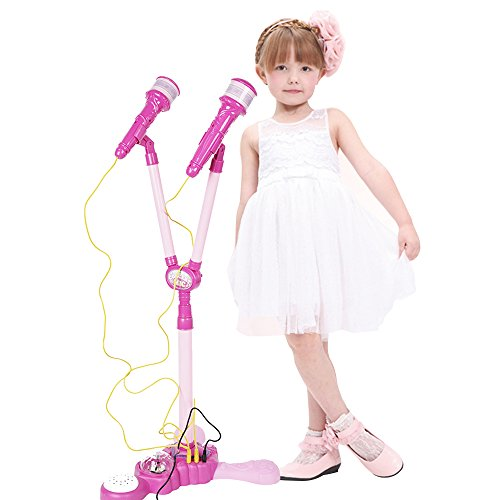 COLORTREE Girls Voice Microphone Karaoke Singing Funny Gift MP3 Music Toy by COLORTREE
