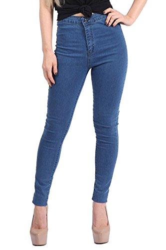 Missi London Jeans bleu Bleu Femme PPrdq0