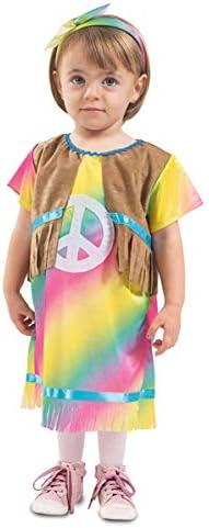 Disfraz de Hippie Arcoíris para bebé: Amazon.es: Juguetes y juegos